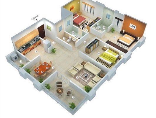 23 Model Rumah Minimalis 3 Kamar