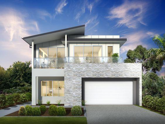 Desain Rumah Minimalis 2 Lantai 13