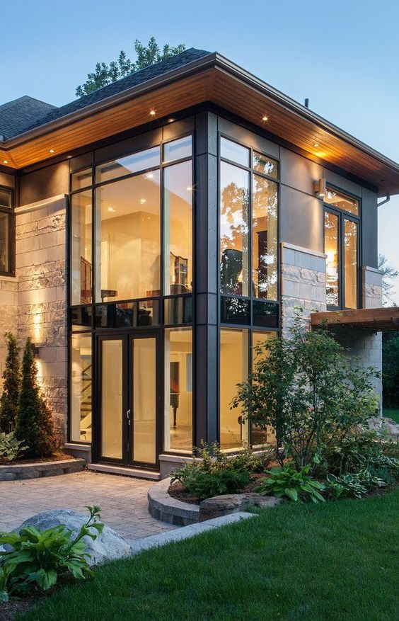 75 Ide Desain Rumah Rustic Gratis Terbaru Download Gratis