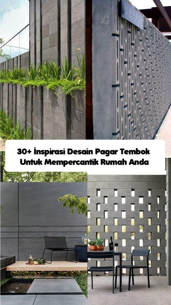 Inspirasi Desain Pagar Tembok (1) (1)