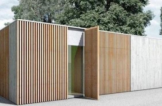 Inspirasi Design Pagar Tembok 12