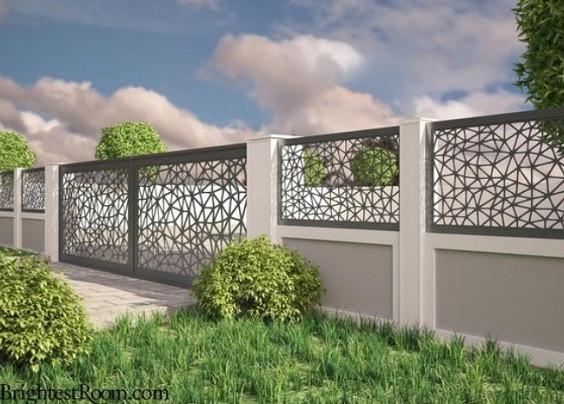Inspirasi Desain Pagar Tembok 9