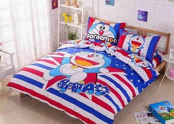25+ Dekorasi Kamar Doraemon Untuk Desain Kamar Yang Menarik