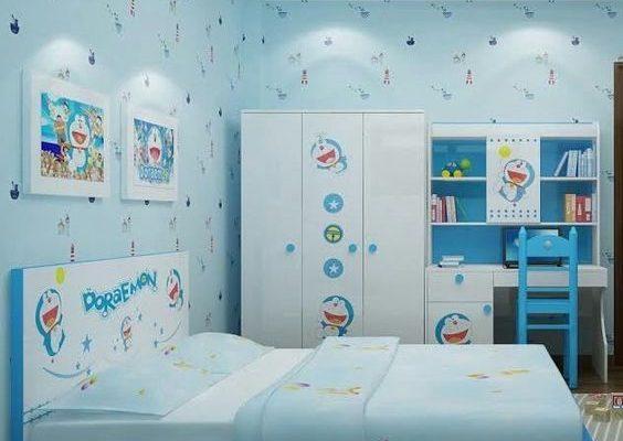 25 Dekorasi Kamar Doraemon Untuk Desain Kamar Yang Menarik