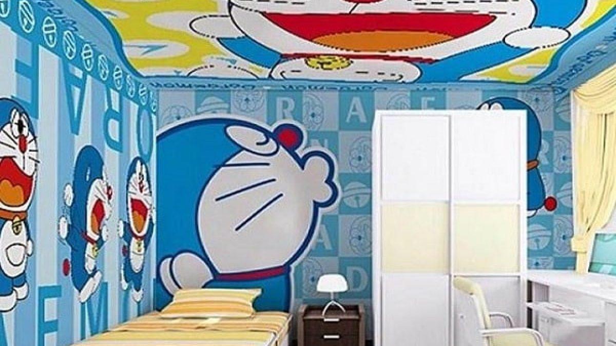 5+ Dekorasi Kamar Doraemon Untuk Desain Kamar Yang Menarik