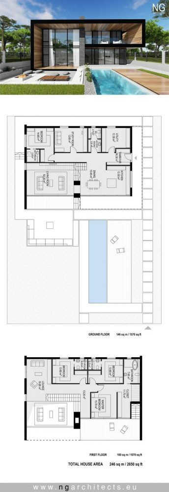 denah rumah minimalis 2 lantai 10