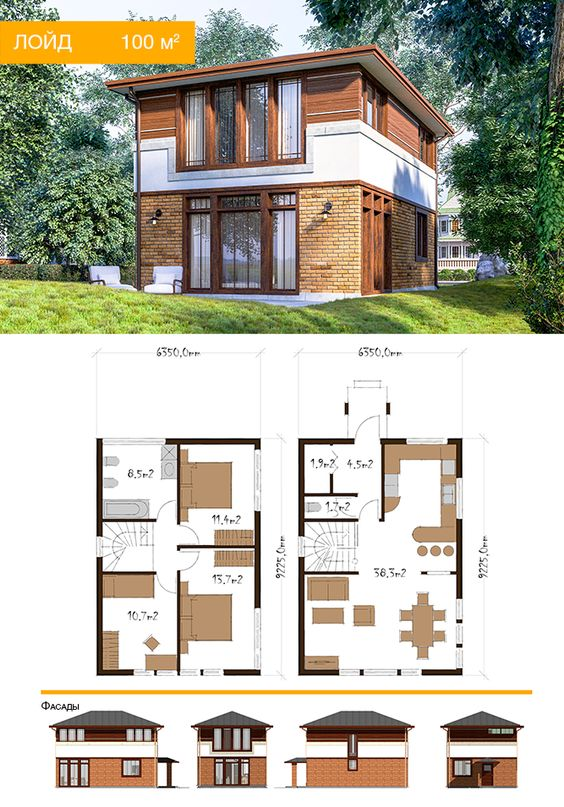 denah rumah minimalis 2 lantai 4