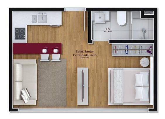 denah rumah minimalis modern 13