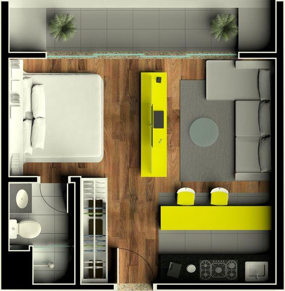 denah rumah minimalis modern 17