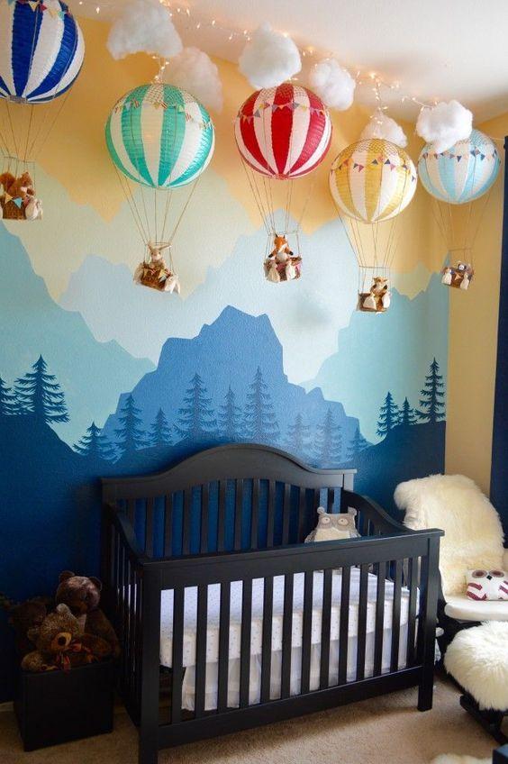 desain kamar tidur bayi 1
