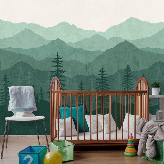 desain kamar tidur bayi 2