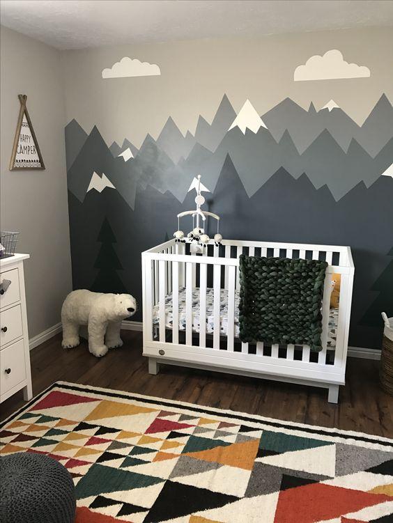 desain kamar tidur bayi 3