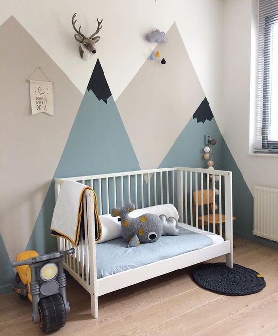 desain kamar tidur bayi 4