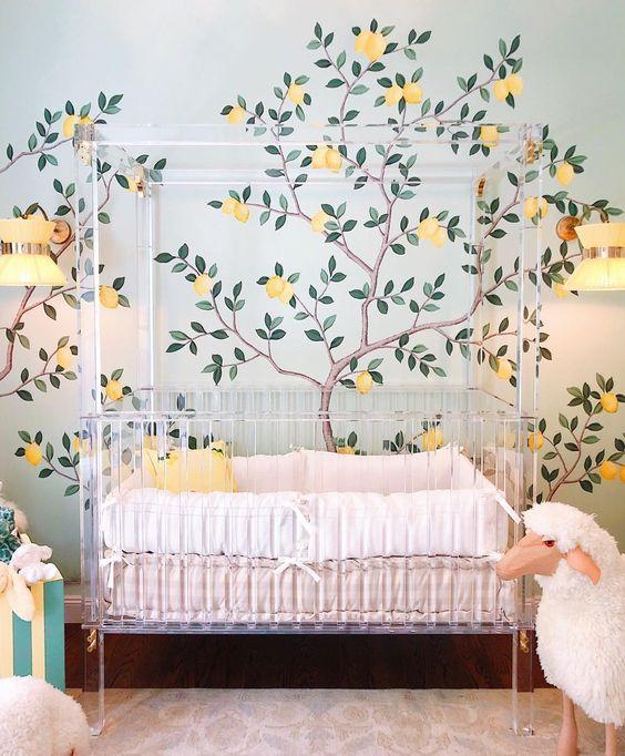desain kamar tidur bayi 6b