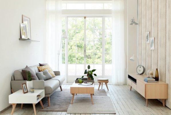 desain ruang keluarga minimalis feature