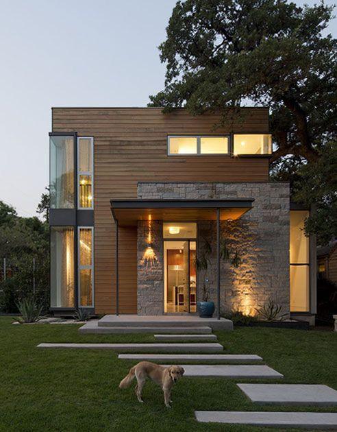 desain rumah kecil modern 1