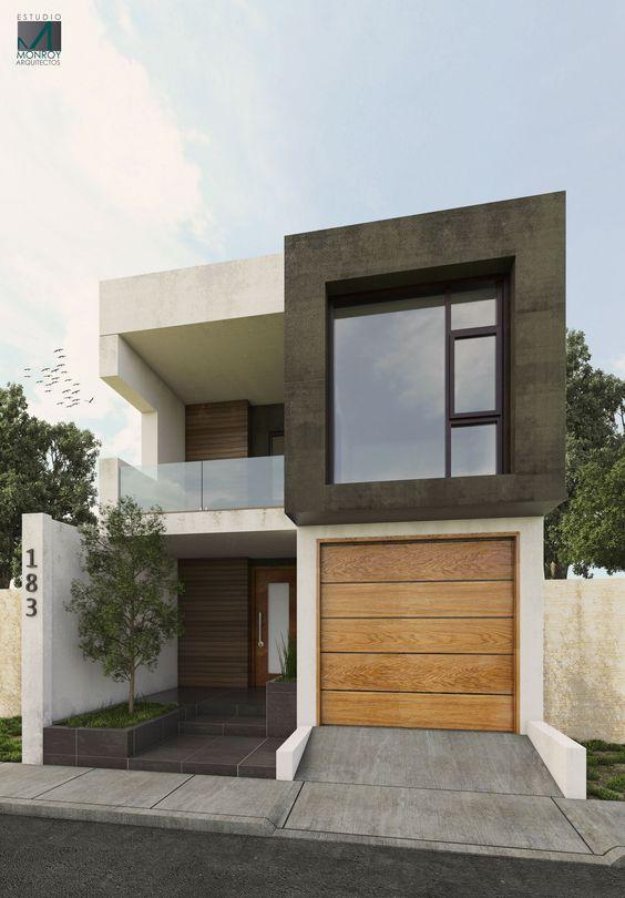 desain rumah kecil modern 6