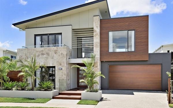 desain rumah kecil modern feature