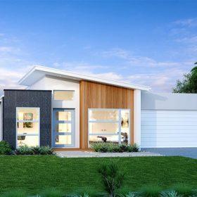 desain rumah minimalis 1 lantai feature