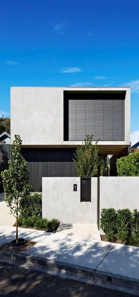rumah minimalis tampak depan 18