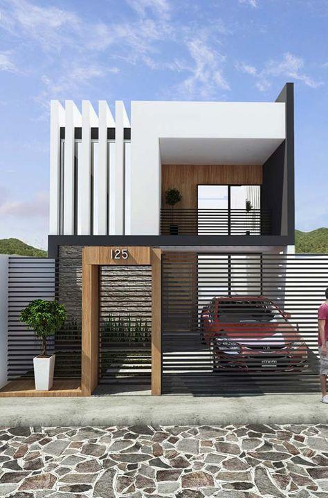 rumah minimalis tampak depan 19