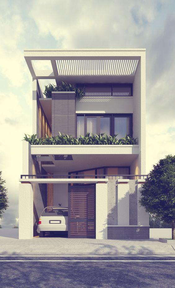 rumah minimalis tampak depan 2
