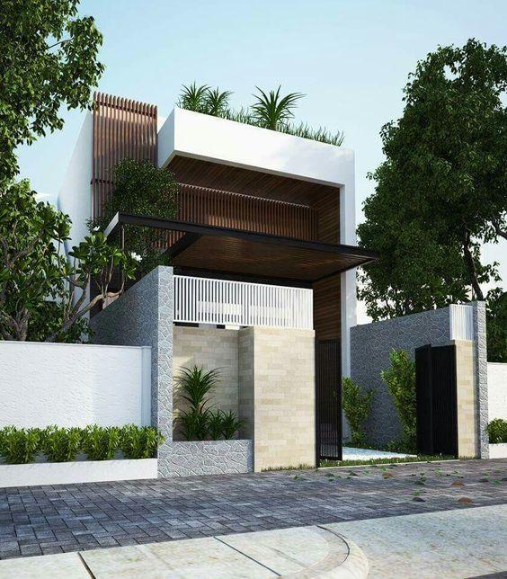 rumah minimalis tampak depan 4