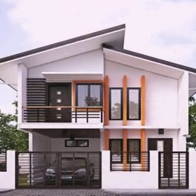 rumah minimalis tampak depan feature