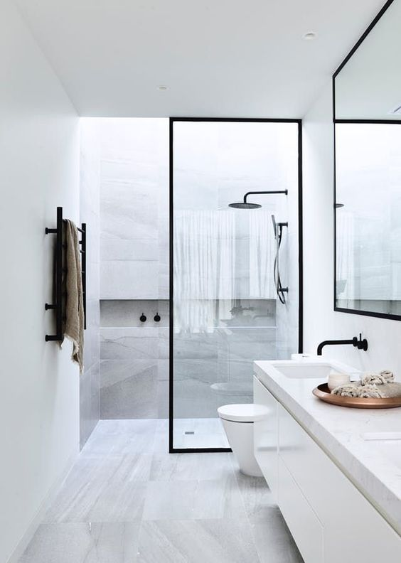 25+ Inspirasi Terbaik Desain Kamar Mandi Minimalis Untuk Rumah Modern