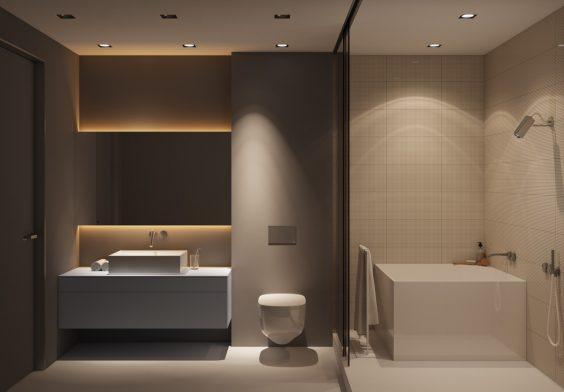 kamar mandi minimalis 4