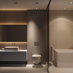 kamar mandi minimalis feature