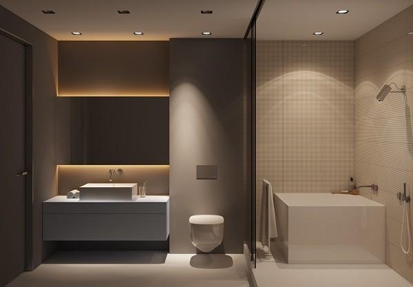 9700 Koleksi Ide Design Kamar Mandi Rumah Minimalis Paling Keren Download Gratis