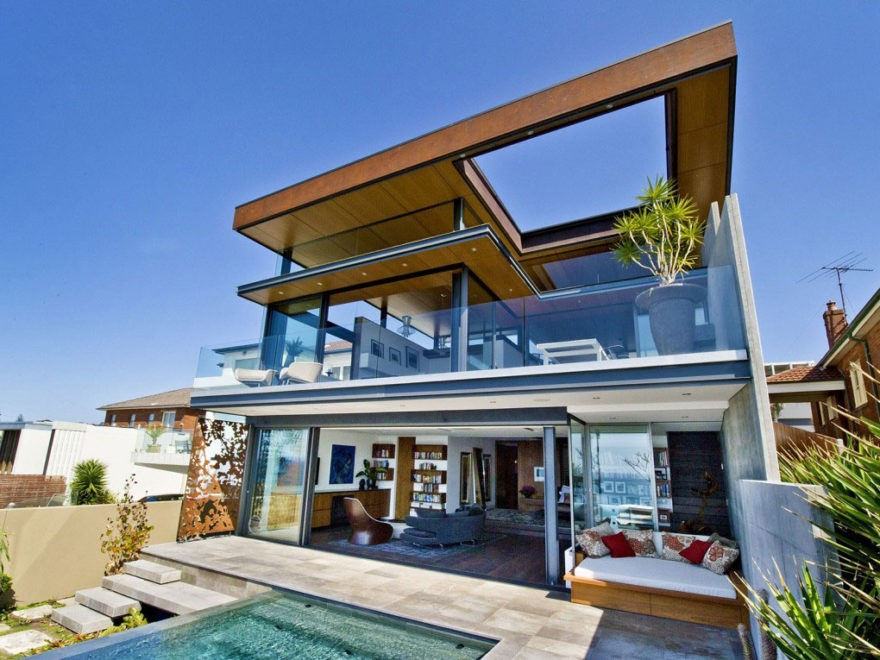 Desain Rumah Mewah Minimalis Modern 8 Inspirasi Rumah Idaman