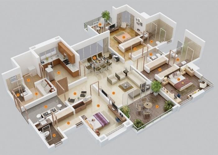 58 Contoh Gambar Denah Rumah Minimalis 2 Lantai Gratis Terbaik