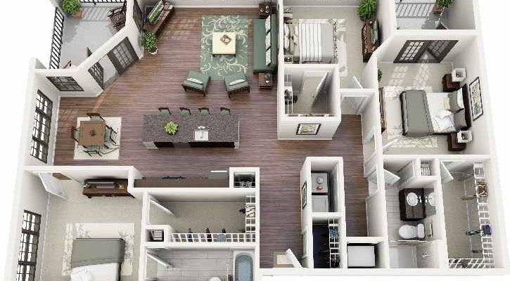 25 Inspirasi Desain Rumah Minimalis 3 Kamar Untuk Referensi Anda