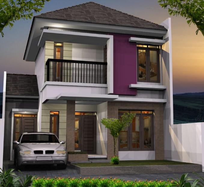 9800 Gambar Rumah Lantai 2 Cantik HD Terbaru