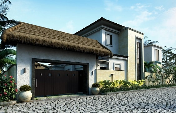 92 Koleksi Gambar Gapura Rumah Mewah Gratis Terbaru