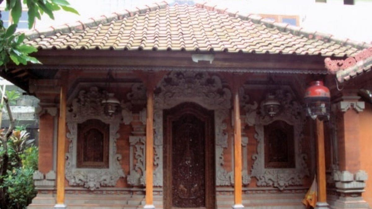 30 Gambar Desain Rumah Adat Bali Tradisional Dan Modern