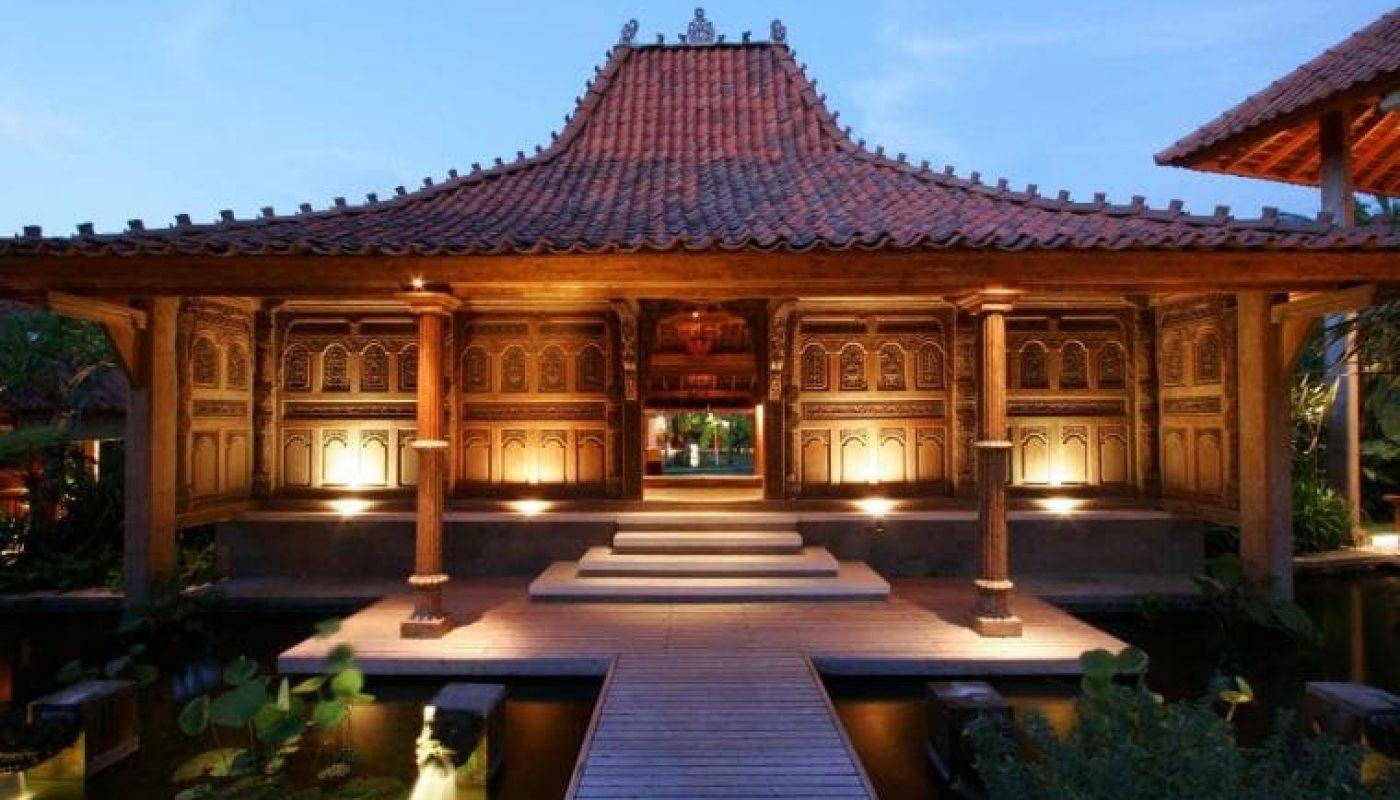 25 Inspirasi Desain Rumah Adat Jawa Tengah Klasik Dan Modern