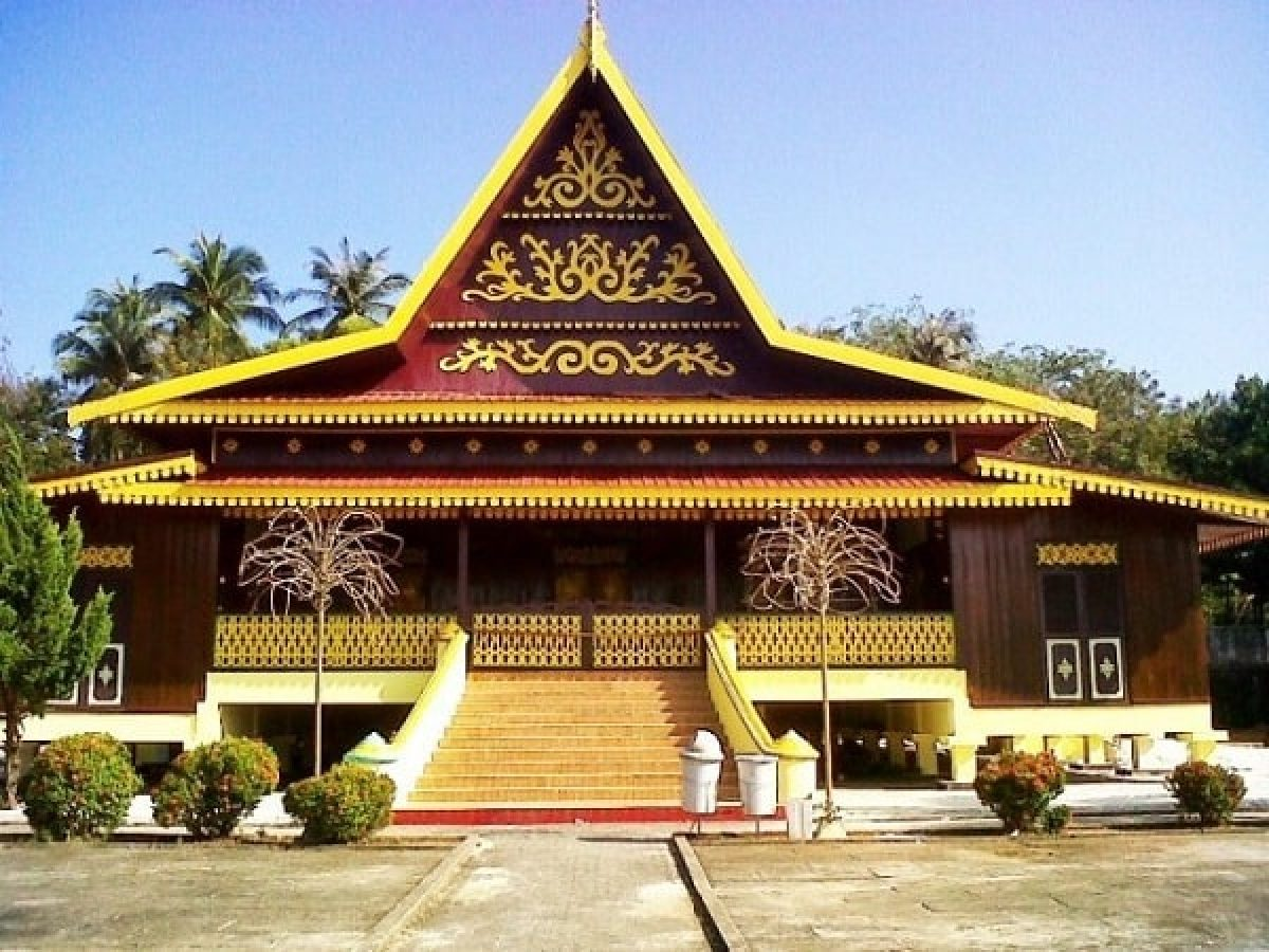 25 Nama Dan Gambar Rumah Adat Riau Terbaik Koleksi Gambar