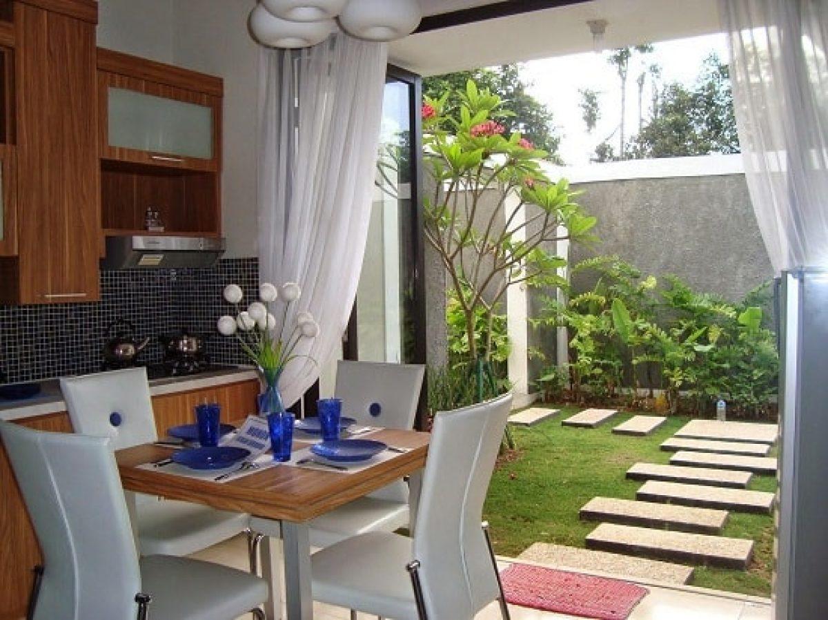 Desain Taman Belakang Rumah Lahan Sempit