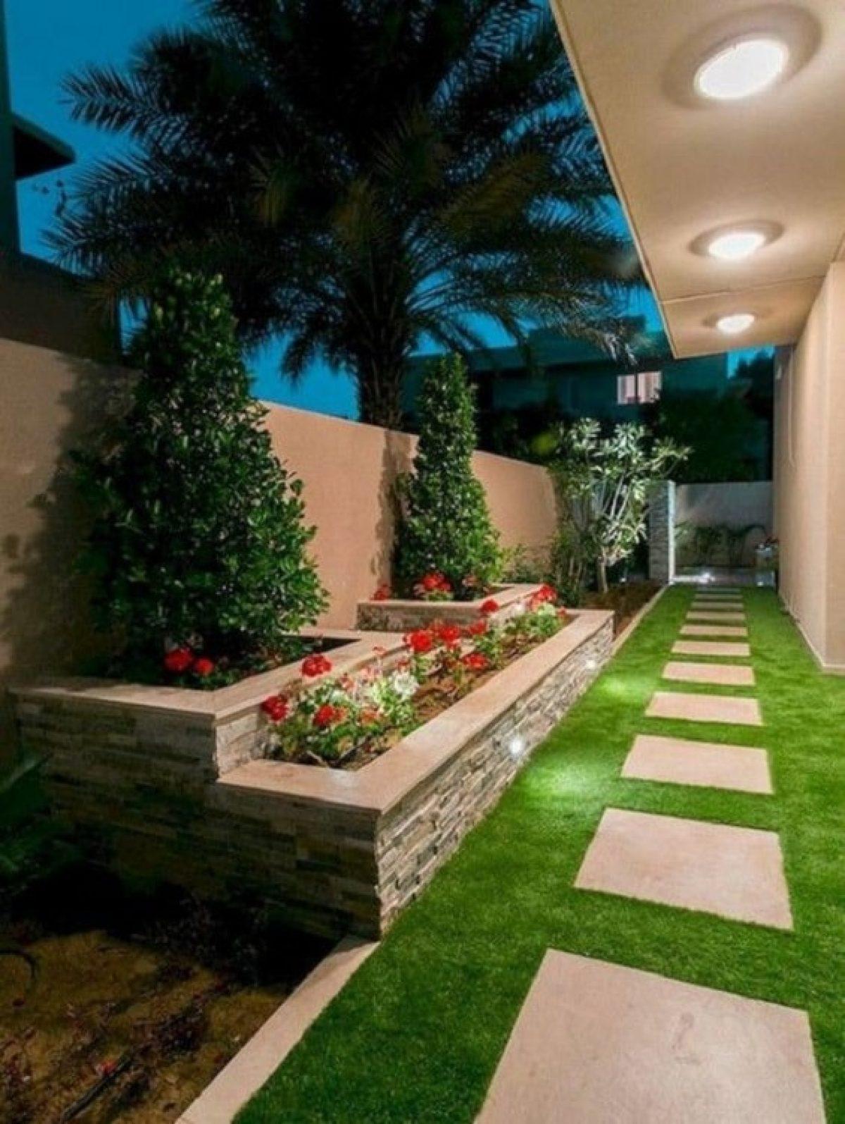 Gambar Desain Taman Samping Rumah