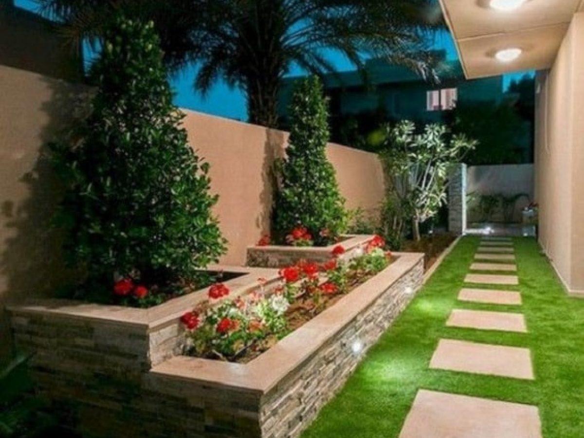 Desain Taman Samping Rumah Yang Indah Dan Menarik