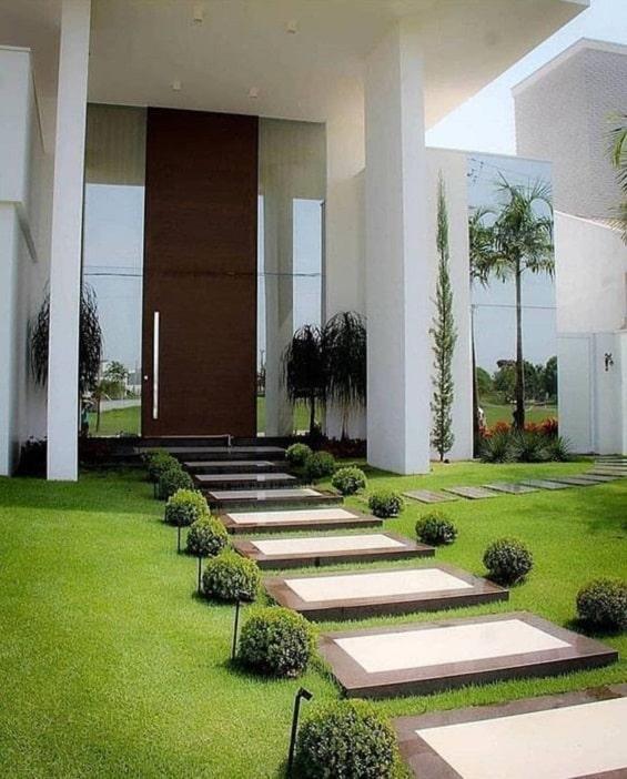 Desain Taman Sederhana Depan Rumah