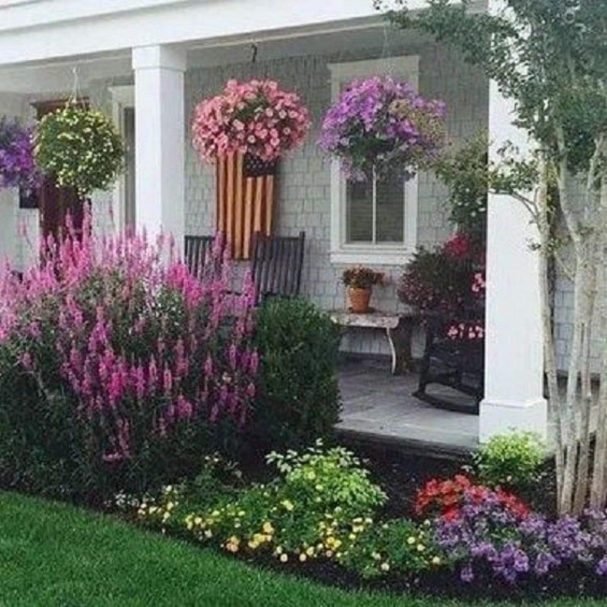 Desain Taman Bunga Di Rumah