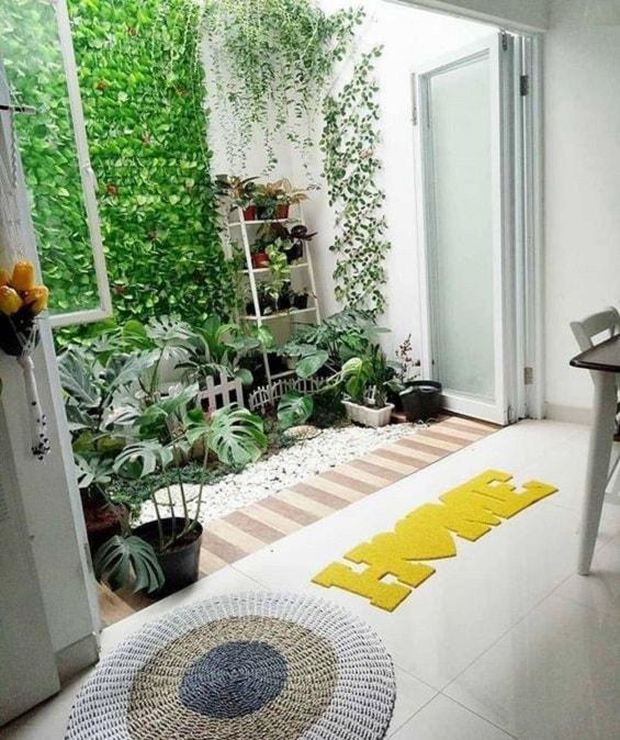 Desain Rumah Minimalis Dengan Taman Di Tengah 2020 Rumah