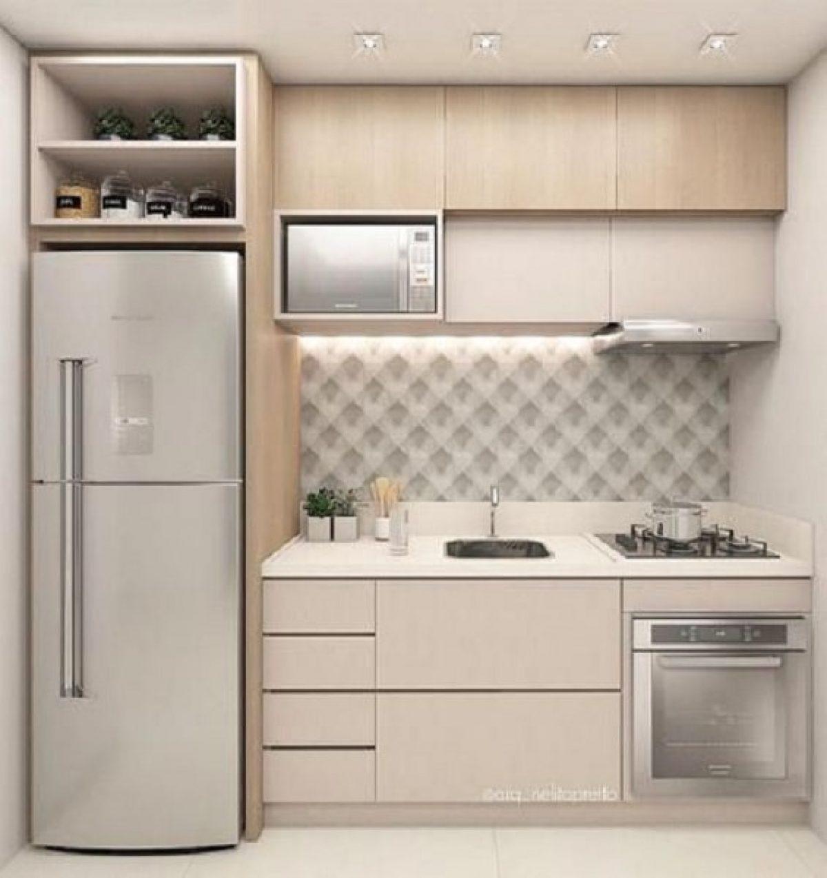 Desain Dapur Sederhana Miminalis Yang Nyaman Dan Modern