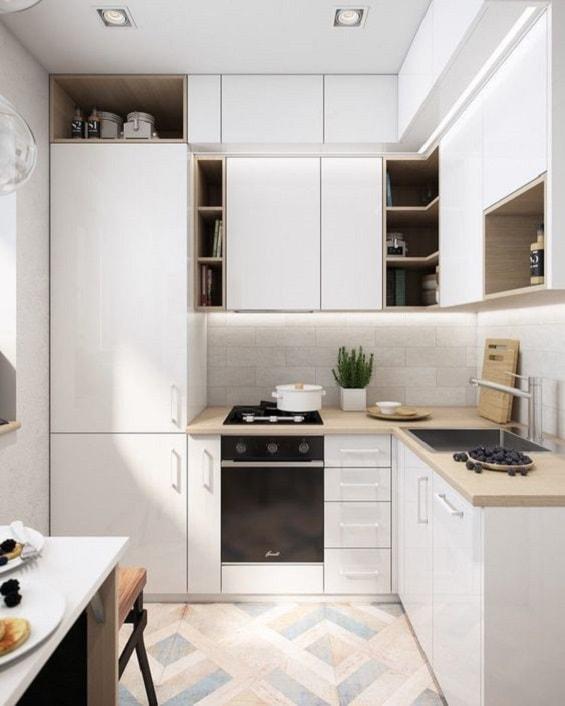 Desain Meja Dapur Island  desain dapur sederhana miminalis yang nyaman dan modern