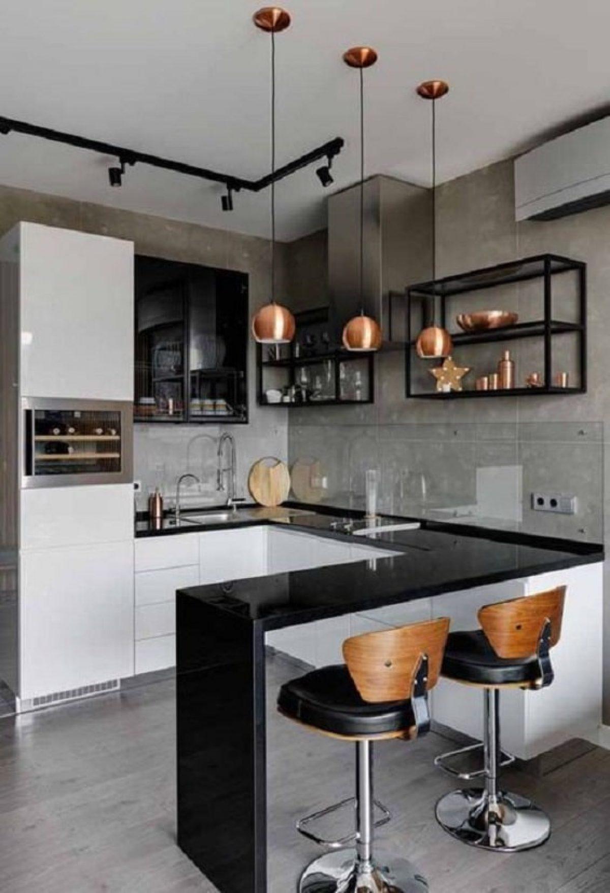 Desain Dapur Modern dengan Tampilan Masa Kini yang Menawan