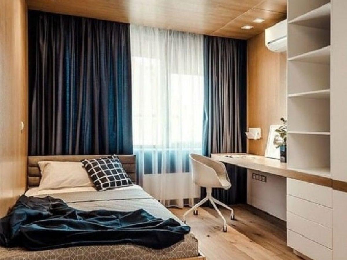Desain Kamar Tidur Ukuran Kecil yang Minimalis Namun Fungsional